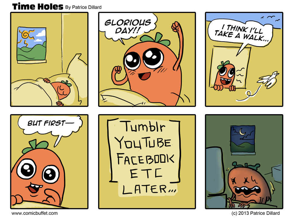 Time Holes